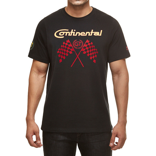 Royal Enfield GT Flag T-Shirt Black