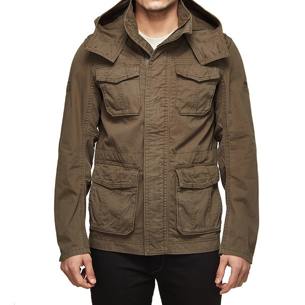 Royal Enfield Despatch Commander Field Jacket Olive