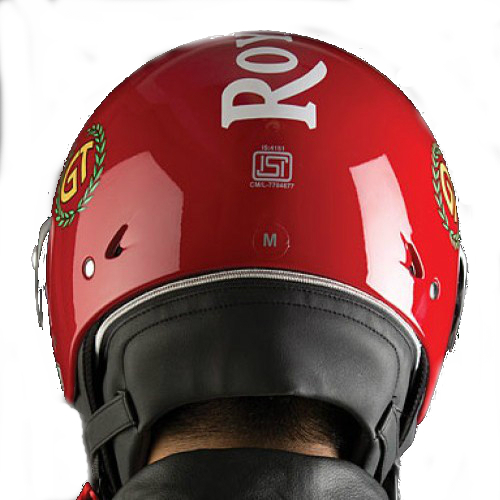 Royal Enfield Continental GT Helmet Red