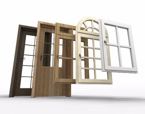 Vari tipologie di serramenti e infissi
