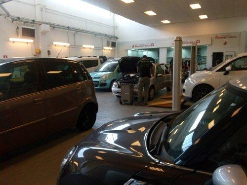 auto in autofficina