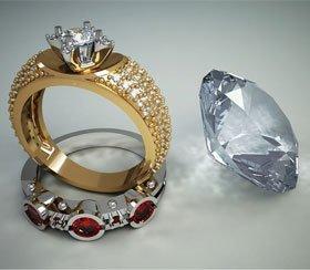 Jewellery design and redesign - Birkenhead, Merseyside - A B Jewellery Design - Rings