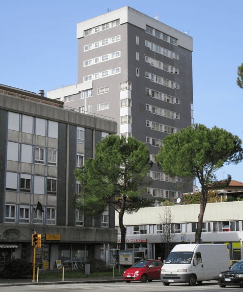 La sede a Udine via San Daniele 82 - Amministrazioni Condominiali Indra Sas