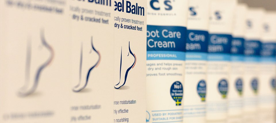 cream for dry and cracked feet