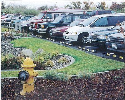 parking blocks in Foley, AL