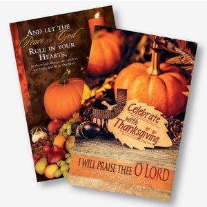 Fall Church Bulletins