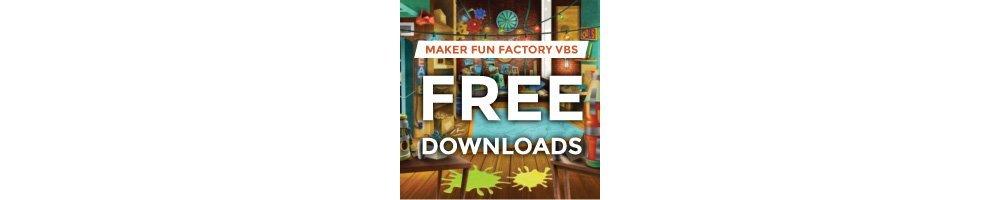 Maker Fun Factory VBS Free Downloads