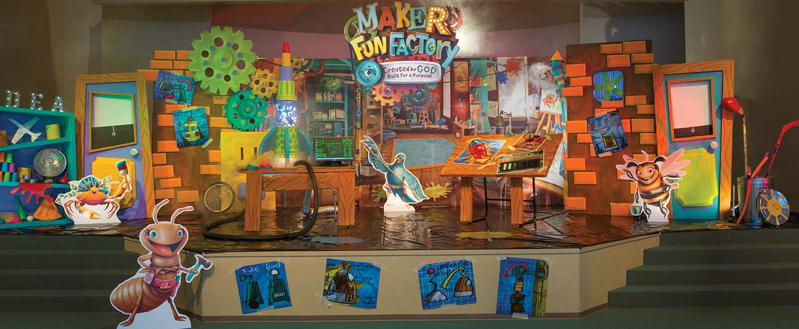 Gathering Ideas For Maker Fun Factory Vbs 2017