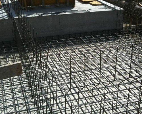 delle strutture in metallo