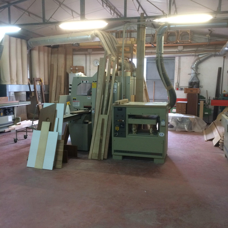 macchinari in falegnameria