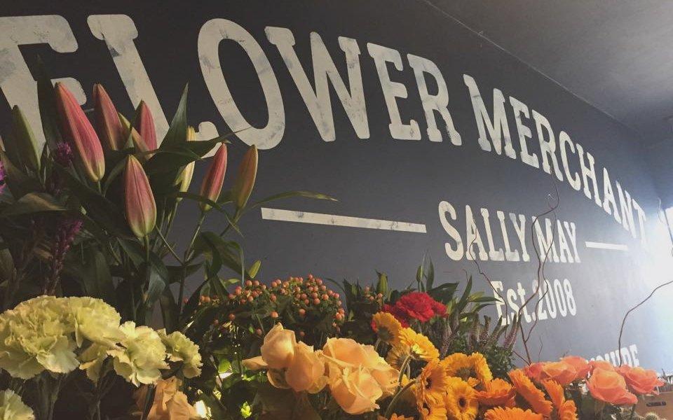 FLOWER MERCHANT poster