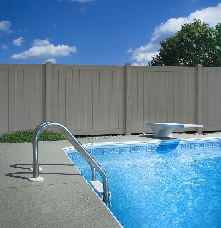 Vinyl Privacy Fence Virtually Maintenance Free Fencing