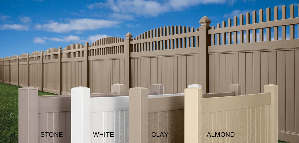 Vinyl Fence Privacy Semi Privacy Picket Amp Ranch Rail