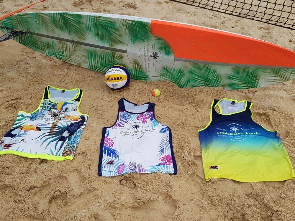 abbigliamento beach volley personalizzati