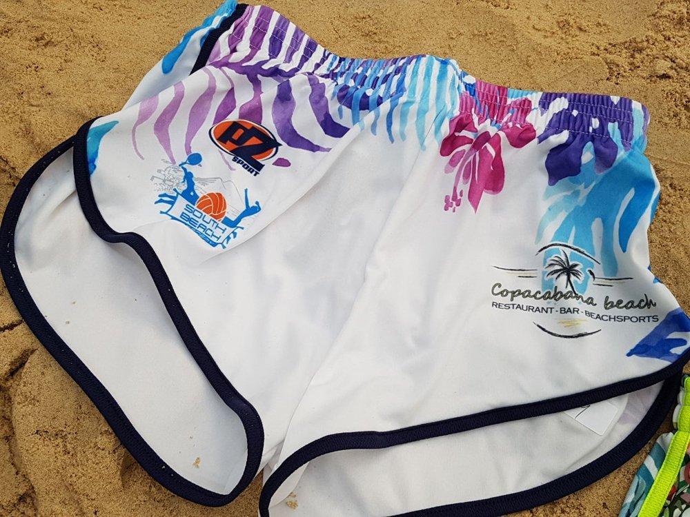 pantaloncino per beach volley personalizzati
