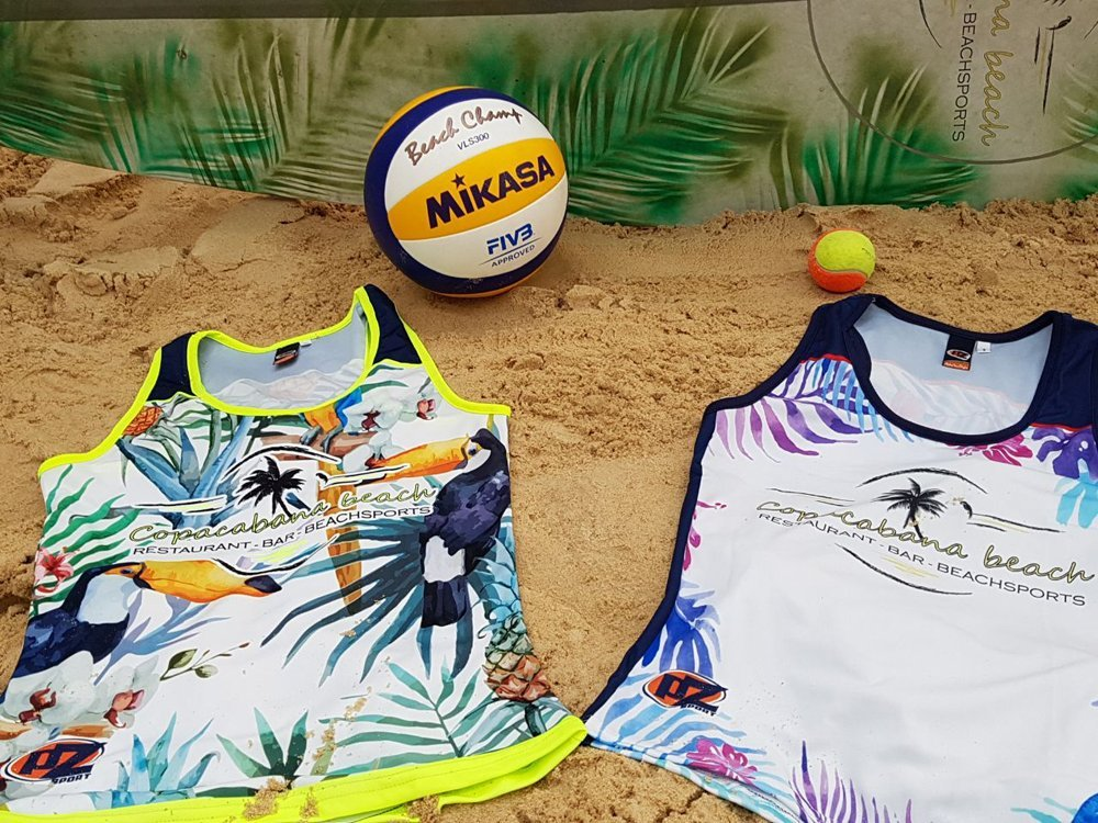 canotte beach volley donna