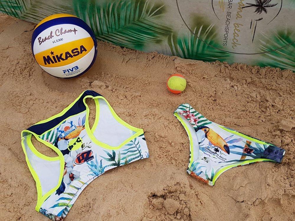 abbigliamento sportivo per beach volley donna