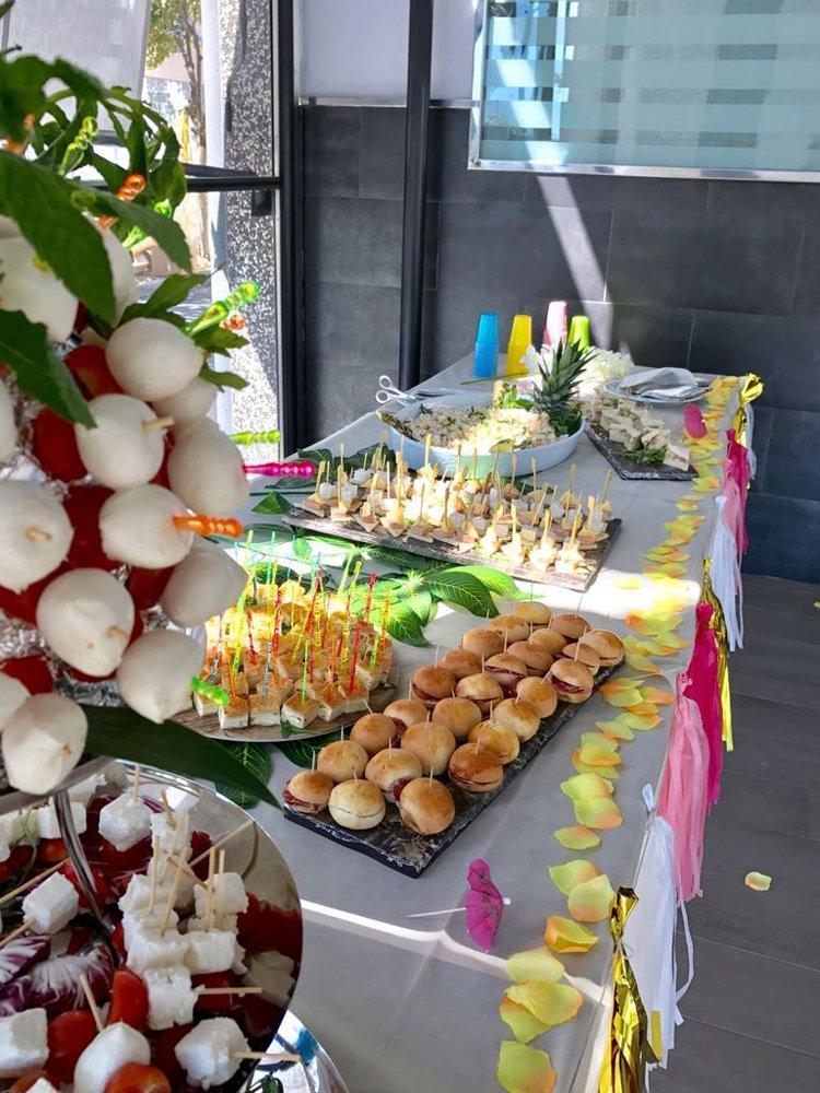 buffet per eventi e feste