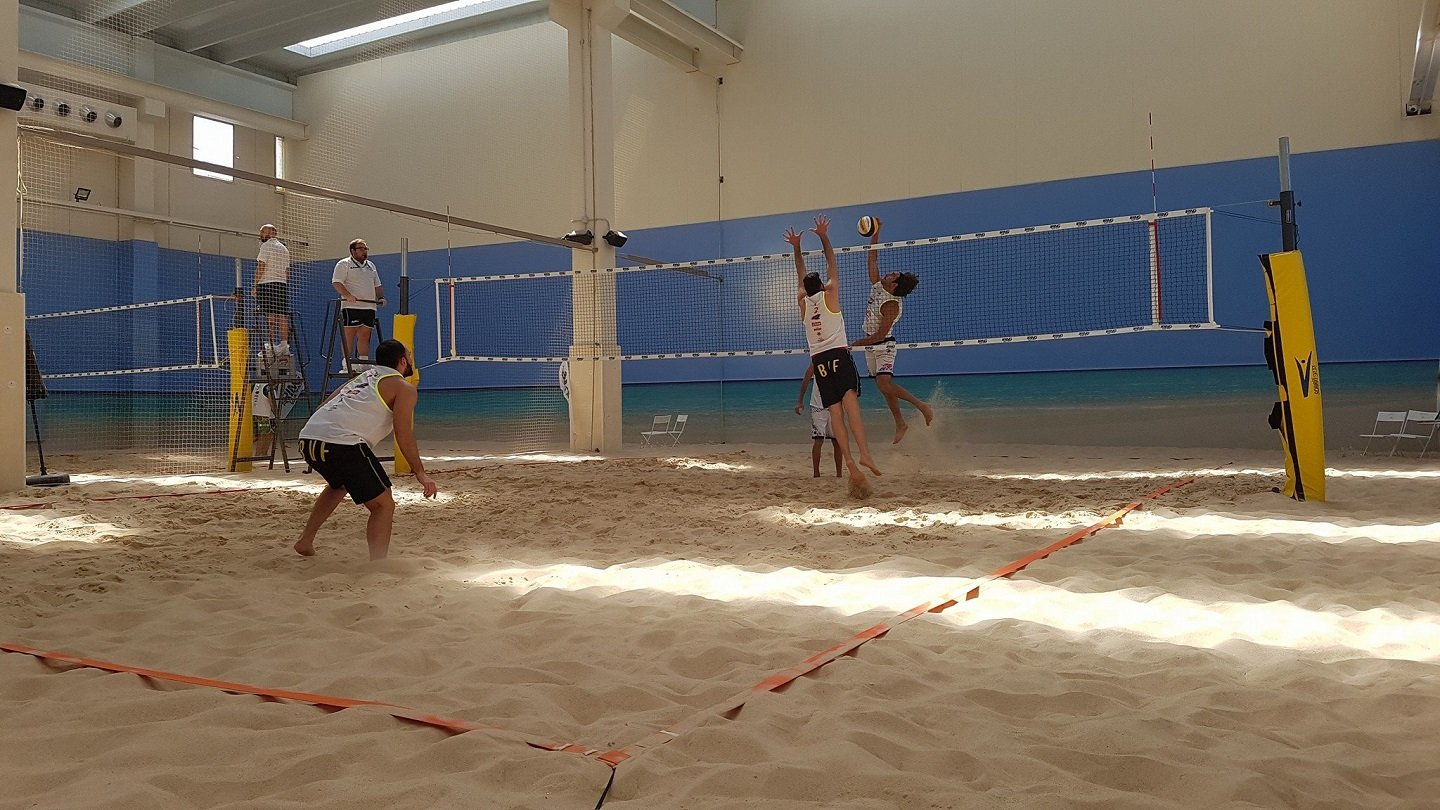 Pista coperta di  beach volley