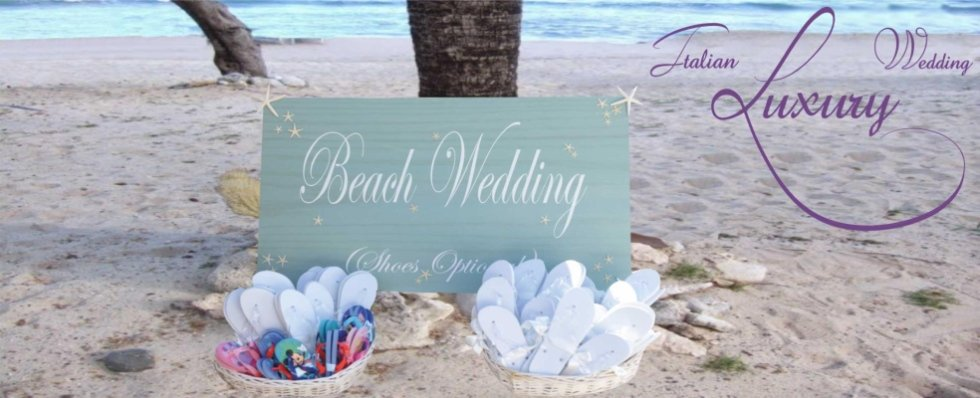 italian wedding beach