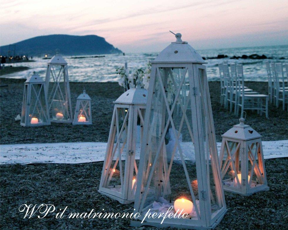 wedding lanterns beach