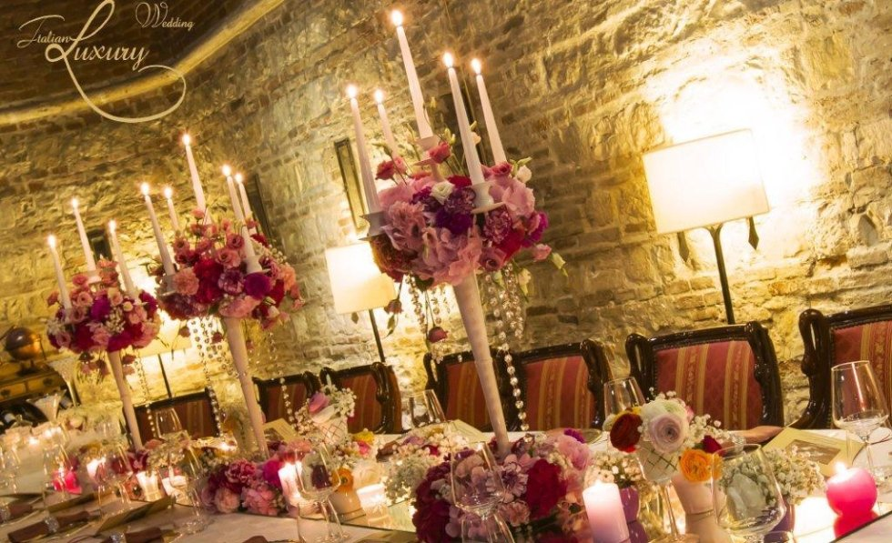 wedding luxury decoration - allestimento di lusso