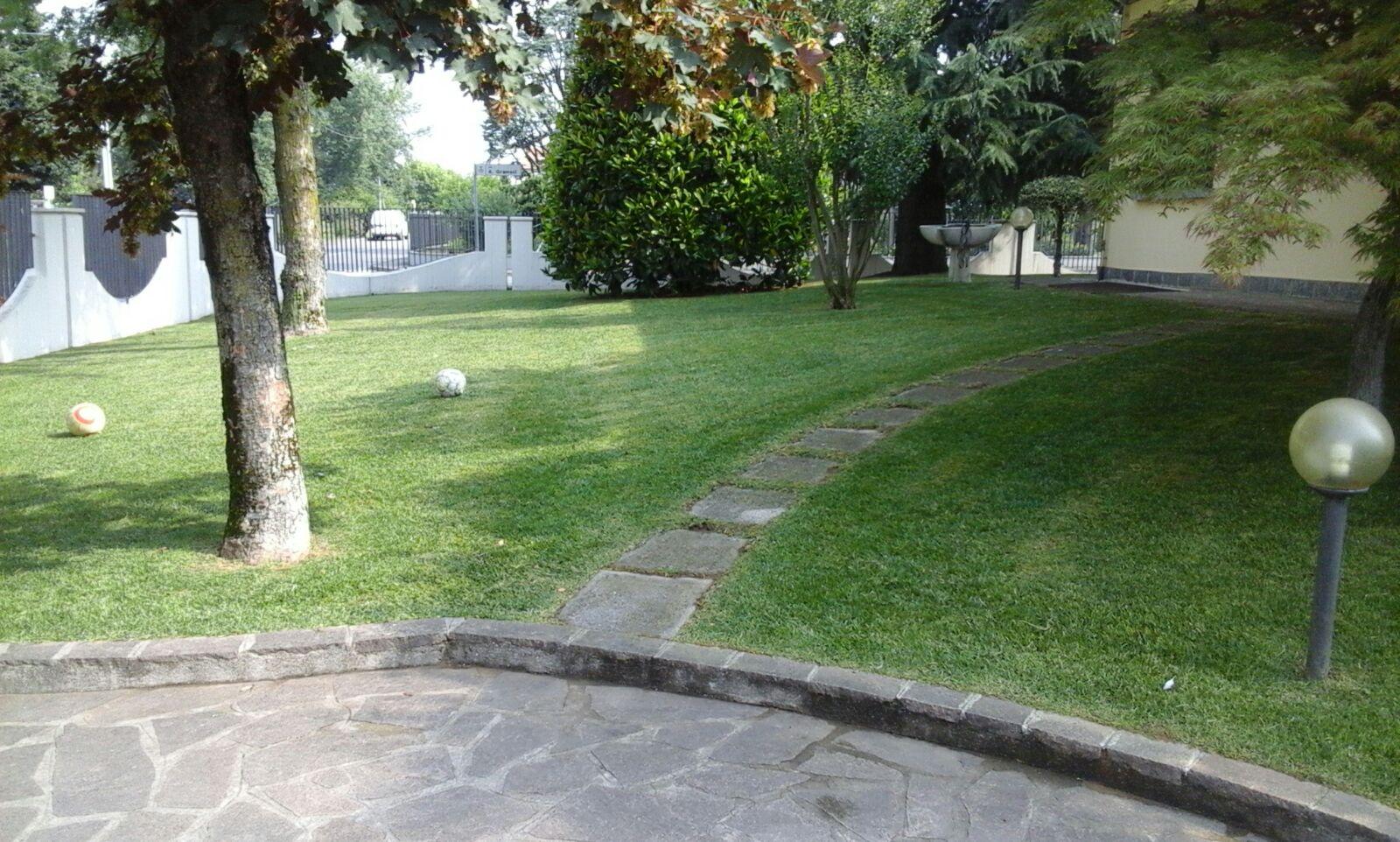 giardino con vialetto