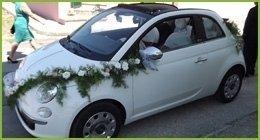 allestimenti auto nozze