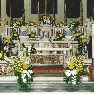 allestimenti per altari