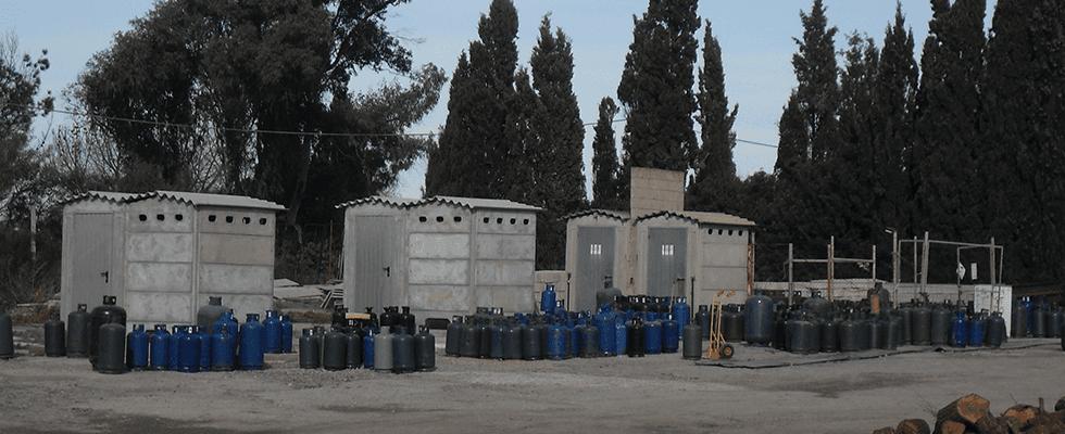 Gas in bombole Portoscuso