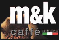 M & K CAFFE' - LOGO