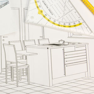 planning the new kitchen