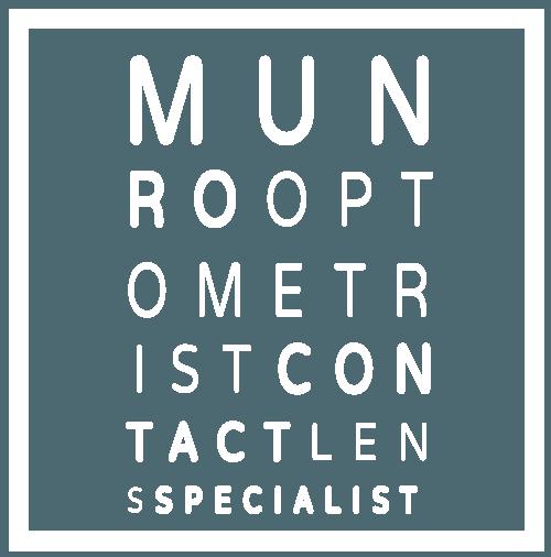 Munro Optometrists logo