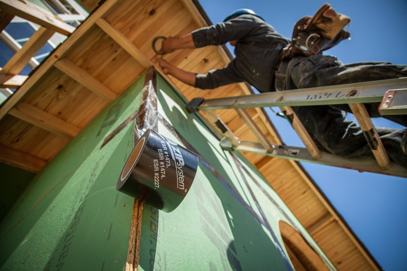 ZIP System® Sheathing and Tape Installation-Concord, NC