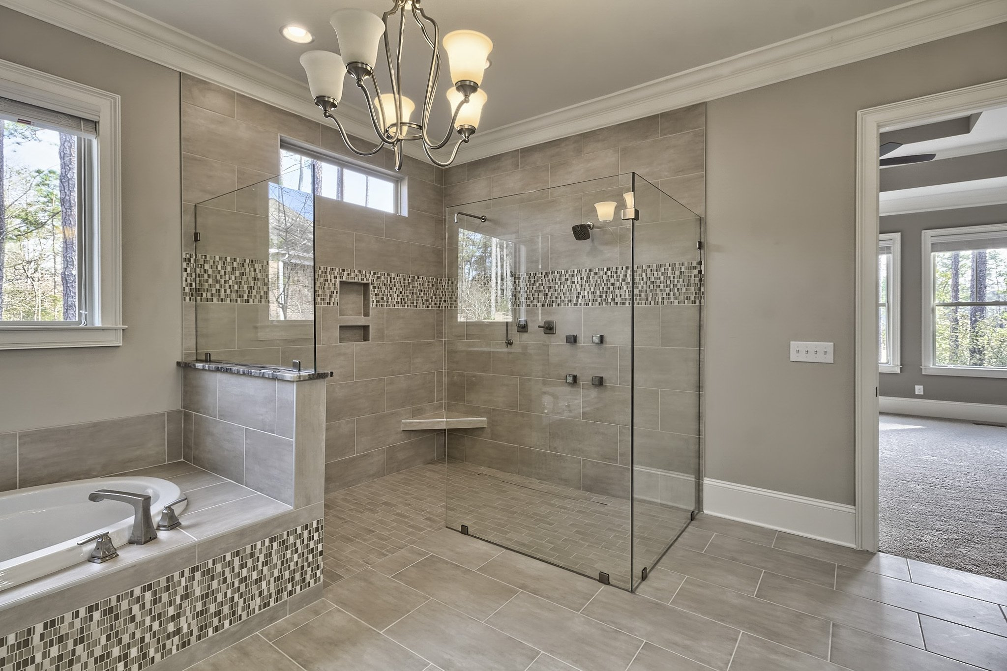 Custom Bathroom by Eddie Yandle