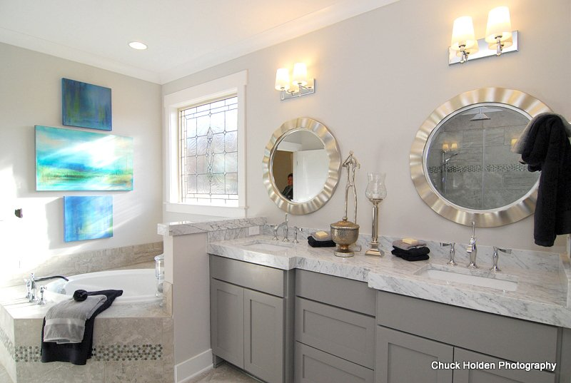 Gallery of Bathrooms new homes