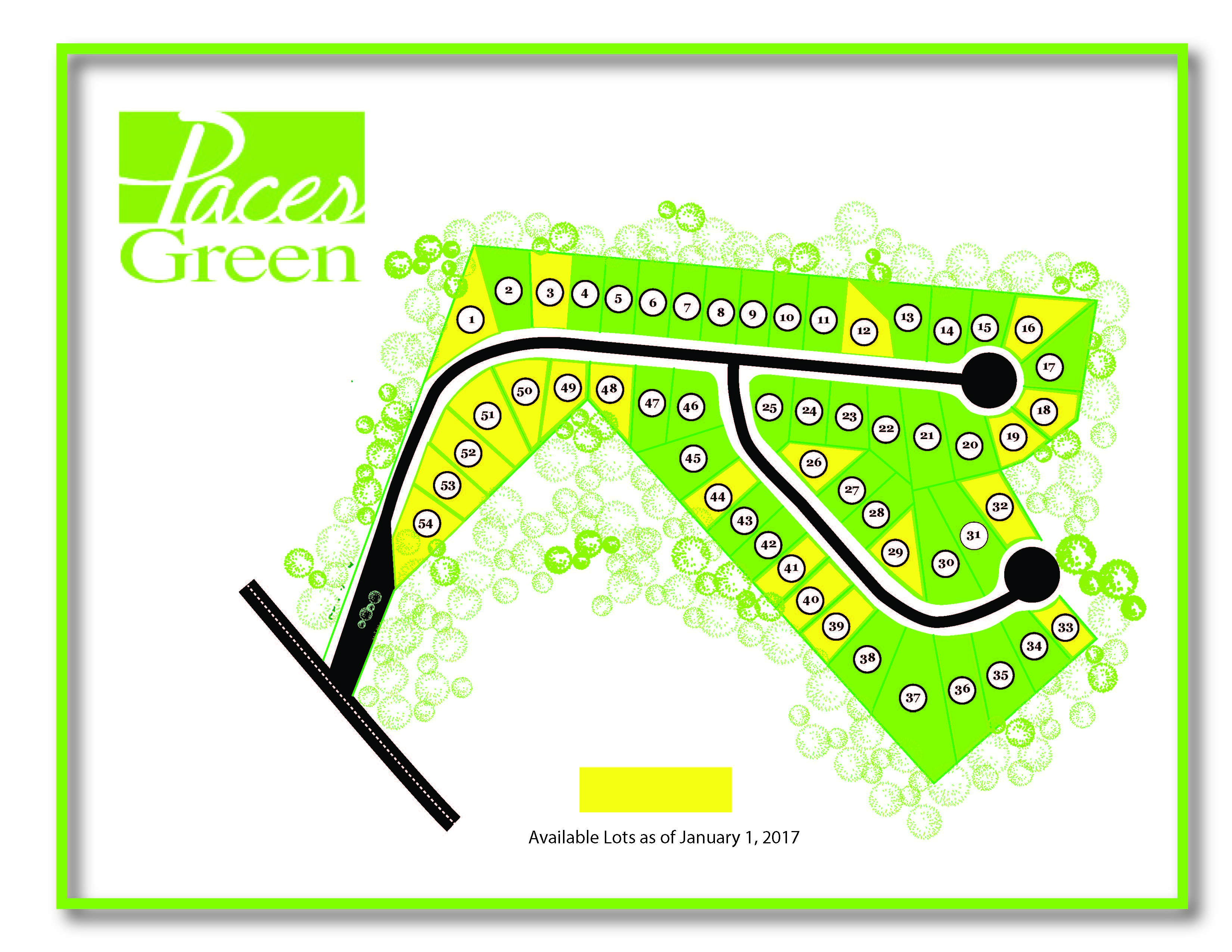 paces green lugoff