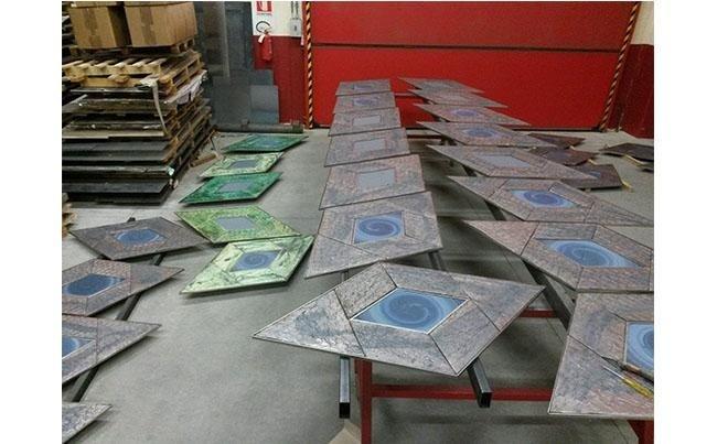 Lavorazione Metalli LES DOCKS DI MARSIGLIA