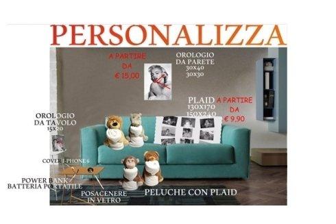 Personalizza la tua casa con tante idee originali e divertenti.