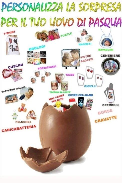 Personalizza il regalo del tuo uovo di Pasqua.