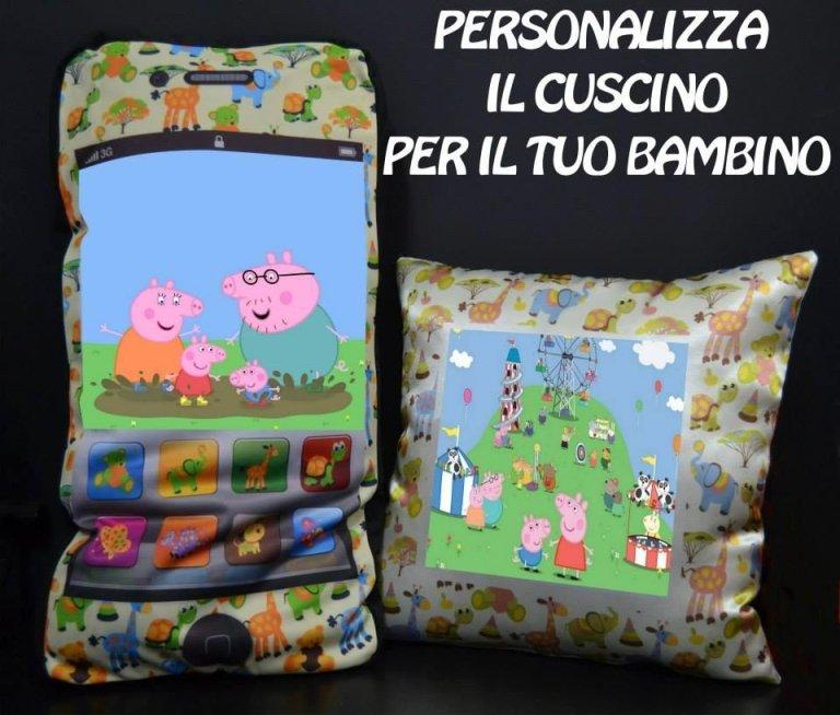 Personalizza il cuscino per il tuo bambino