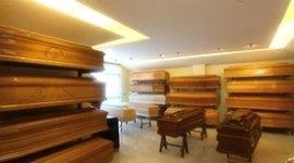 Esposizione bare in legno