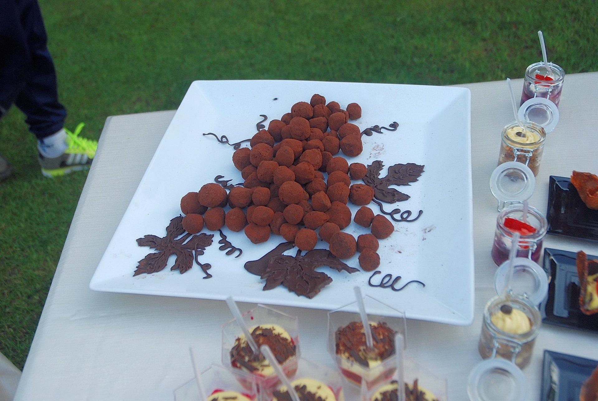 buffet di cioccolatini e dolci caserecci