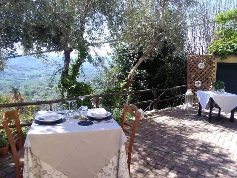 terrazza panoramica per cene romantiche