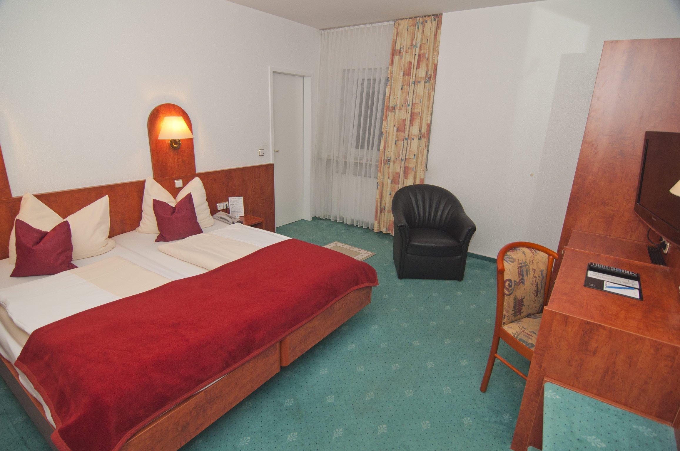 Zimmer 118 im Hotel Hansa Offenbach