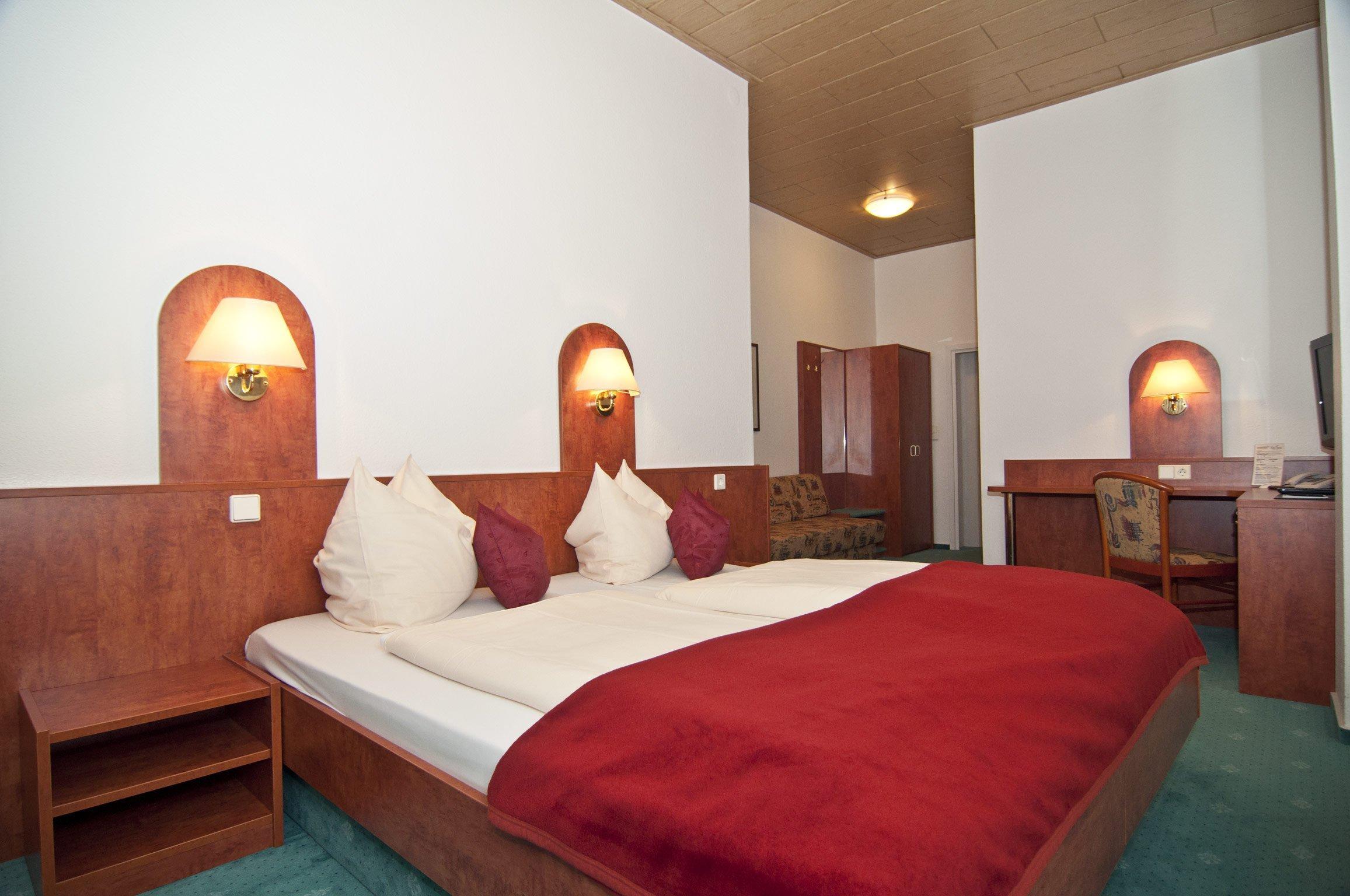 Das Zimmer 121 im Hotel Hansa Offenbach