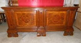 restauro mobili d'epoca, cassapanca