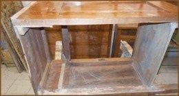 sistemazione mobili in legno