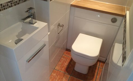 Bathroom re-design