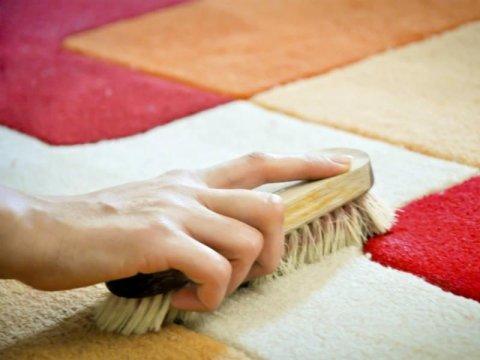 pulizia tappeto